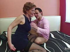 Mom with perfect body want to fuck german step-son ! movies at freekilomovies.com