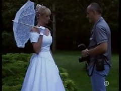 The bride in stockings outdoor movies at kilovideos.com