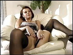 Milf having sex in sheer nylons and a garter belt videos