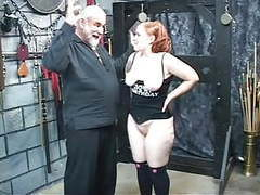 Redhead slut kirsten sucks her master's cock then gets fucked and spanked movies at kilomatures.com