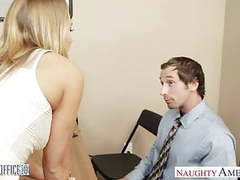 Stockinged office cutie carter cruise fucking videos