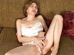 Old mommy masturbates with her heel and her fingers movies at find-best-pussy.com