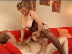 Stunning german granny fucks her husband in stockings movies at kilovideos.com