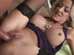 Cougar in stockings want young dick (top mature) tubes