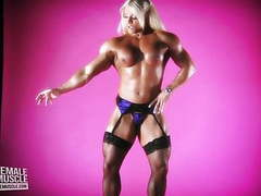 Muscular female bodybuilder lisa cross topless video videos