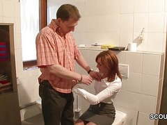 Sexy german mother get fucked during her work movies at kilosex.com