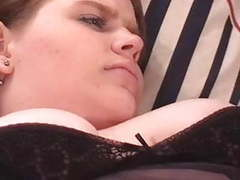 Hot brunette bbw sucks cock before getting her pussy and ass pounded videos
