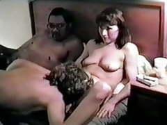 Dee & friends' retro hotel orgy videos