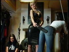 Female feds stripped and ass whipped videos