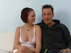 Redhead slut fucks a black guy in front of her husband movies at kilosex.com
