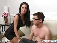 Busty brunette jessica jaymes gets fucked movies at freekiloporn.com