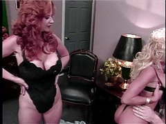 Guy fucks blonde and redhead in bed movies at find-best-lingerie.com