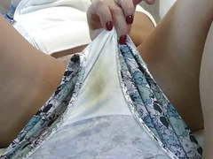 Clean my dirty gusset. videos