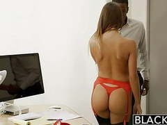 Blacked august ames gets an interracial creampie movies at find-best-babes.com