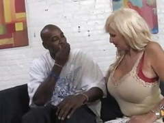 Perfect old mom creampied by black boy while daughter watch videos