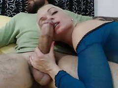 Hot blonde wife loves big arab cock videos