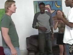 Most disgusting cuckold kiss ever with janet mason movies