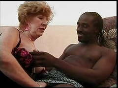 Mature granny sucks and fucks a bbc movies at freekilomovies.com
