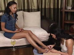 Lesbians in black and white 10 movies at kilogirls.com