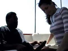 Great interracial on a boat movies