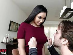 Karlee grey is downing his big hard dick between her legs videos
