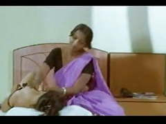 Bollywood sizzling oil massage from b-grade movie movies at find-best-panties.com