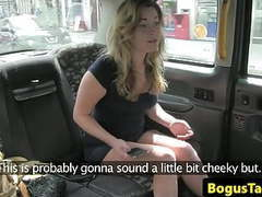 Ballsucking british babe facialized by cabbie movies at freekiloclips.com