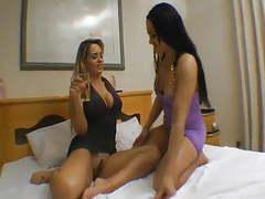 Angel & erika brazilian lesbian tribadism videos