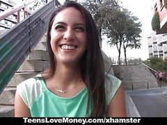 Teenslovemoney - spanish waitress fucked for money movies at kilopics.com