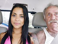 Nikki kay has threesome sex with grandpas videos