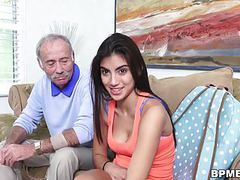 Teen michelle martinez vs old man movies at freekiloporn.com