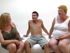 2 bbw milfs in blind date with boys videos