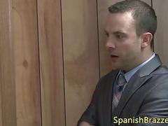 Sesion anal publica para zorrita tetona videos