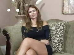 Latina mom in her first video movies