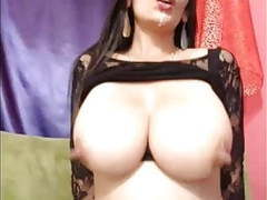 Big milky boobs on webcam videos