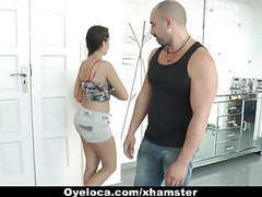 Oyeloca - cute latina rewards stranger with a fuck videos