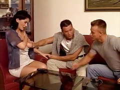 Mature wife double-vag penetrated by young studs movies
