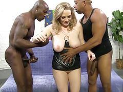 Painful bbc anal and dp with vicky vixen tubes