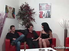 Anal casting couch busty brunette hard double penetrated movies at kilotop.com