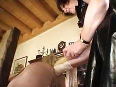 Brutal femdom anal fisting videos