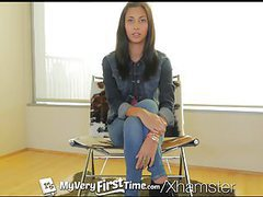 Myveryfirsttime - nervous jade jantzen has her first dp movies at adipics.com
