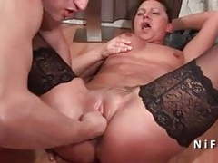 Casting french mature hard double penetrated and facialized movies