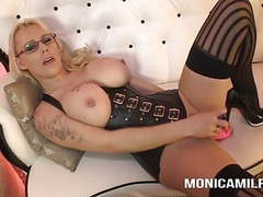 Monicamilf love to watch you jerk off and play with herself tubes