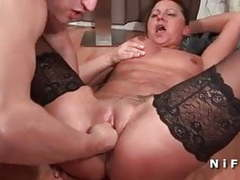 French milf fisted and double penetrated videos