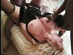 Big busted blonde milf interracial gangbang movies at find-best-hardcore.com
