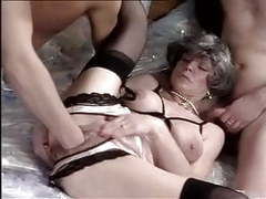 Rich granny fucked and fisted by two men videos