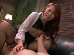 Stockings girl grinds on his cock for creampie movies at sgirls.net