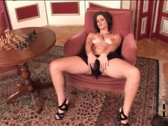 Solo bobbi starr plays with her hairy pussy videos