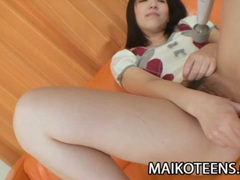 Satsuki ejiri: lovely nippon teen sexual hunger tubes at lingerie-mania.com