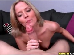 Cute girl in pov blowjob and hardcore video videos
